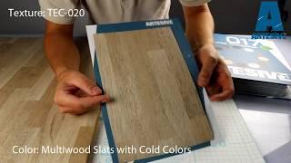 Artesive TEC-020 Mulltiwood Ice - Texture Model of Self-adhesive Film