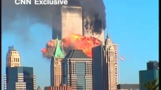 8 different angles of the Boeing 767 hitting the South Tower of the World Trade Centre