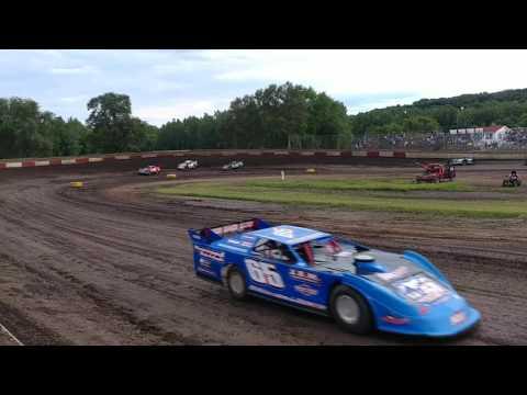 Peoria Speedway 8-5-17 sblm heat race Matt Murphy