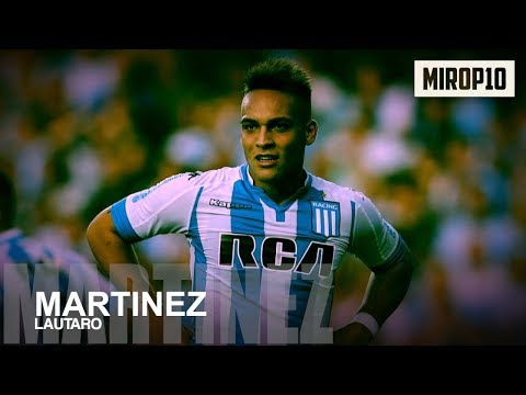LAUTARO MARTÍNEZ ✭ RACING CLUB ✭ THE NEXT SUPER STRIKER OF ARGENTINA ✭ Skills & Goals ✭ 2018 ✭
