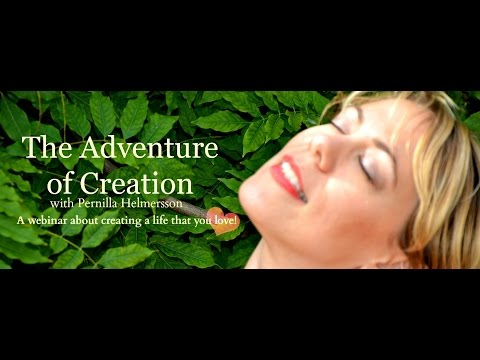 The Adventure of Creation webinar with guest: Johanna Panser