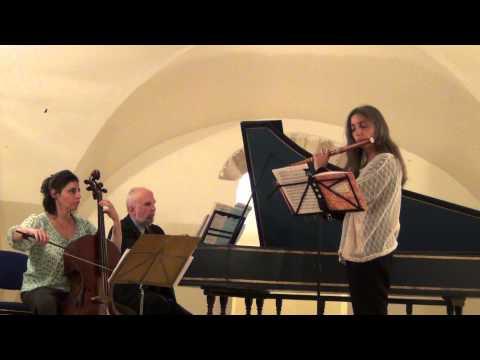 J.-M. Hotteterre, Idit Shemer: Traverso, David Shemer: harpsichord, Orit Messer-Jacobi: cello