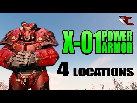 Fallout 4 - X-01 Power Armor Locations - How To To Find The Best Power Armor Sets