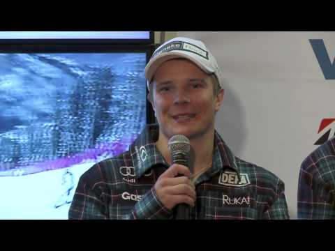 Ski Sport Finland season opening press conference, 9.10.2012, Helsinki