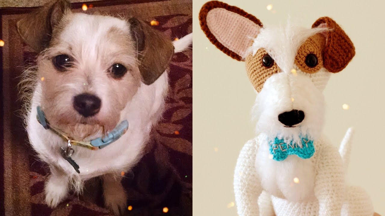 Image result for jack russell terrier amigurumi pattern free ... | 720x1280