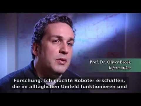 Oliver Brock - Alexander von Humboldt-Professur 2009 (DE)
