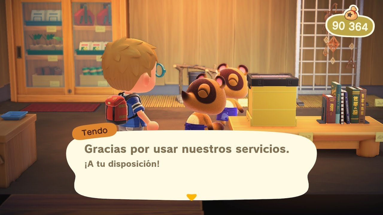 Animal Crossing New Horizons Jugando Game Play