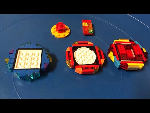 How to make a lego infinite Achilles Beyblade easily