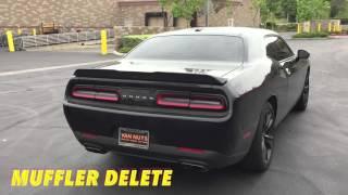 2016 Dodge Challenger R/T - Muffler Delete/Resonator Delete