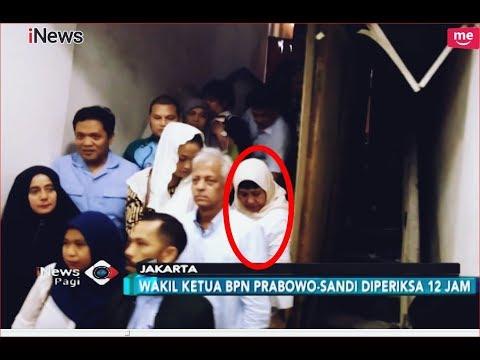 12 Jam Lebih Diperiksa Polisi Soal Ratna Sarumpaet, Nanik S Deyang Pilih Bungkam - INews Pagi 16/10