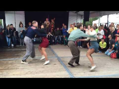 Dancers from Chicago Swing Dance Studio @ Stockholms Kulturfestival part 4