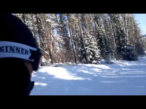 Skiing in Thompson Manitoba Mystery Mountain