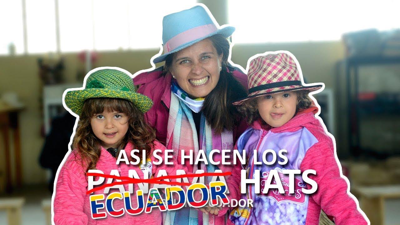 ef9028bf03a72 ¿Como se hace un ECUADOR HAT  Sombrero de Paja Toquilla CUENCA-ECUADOR