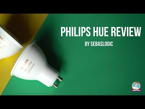 Philips Hue Review: The coolest lights ever!