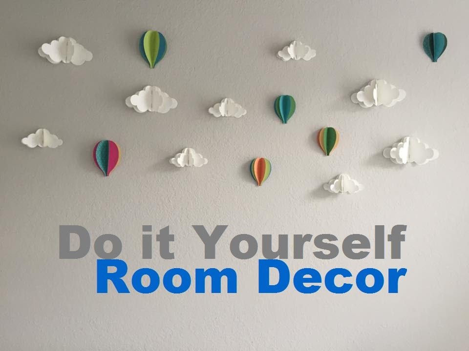 แต่งบ้าน Diy Room Decor For Boys L Tk Sasitorn Youtube