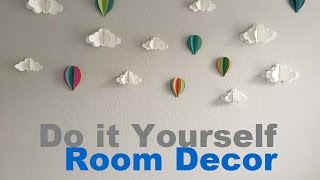 แต่งบ้าน Diy : Room Decor For Boys L Tk Sasitorn