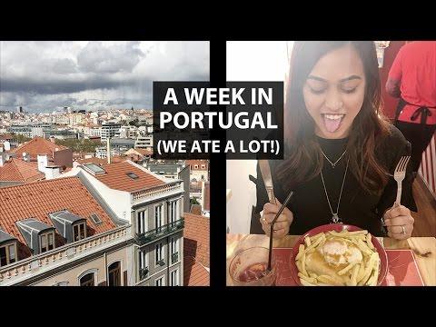 A Week In Portugal Vlog | Lisbon, Porto, Sintra | Anum Rubec | SummerxSkin