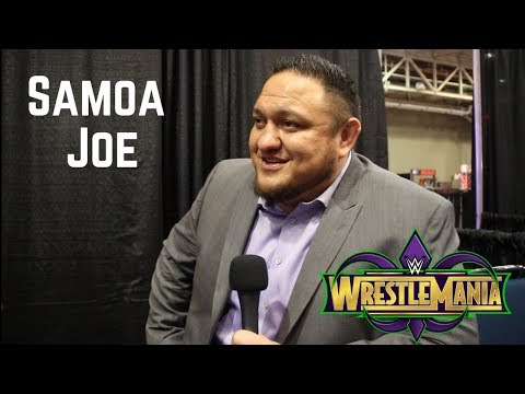 Samoa Joe on Injury, Possible WrestleMania 34 Return, Watching Friends AJ Styles and Daniel Bryan