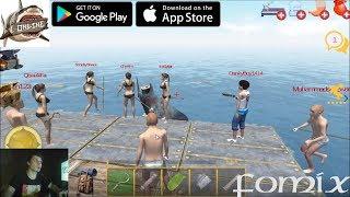 raft Survival: Multiplayer - первый взгляд, обзор (Android Ios)