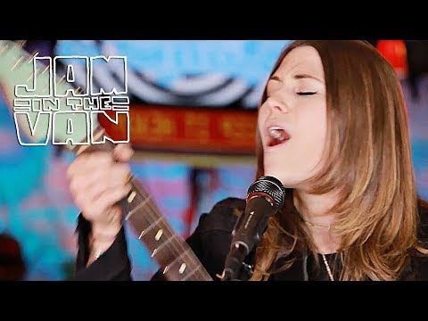 """LARKIN POE - """"Might As Well Be Me"""" (Live at JITV HQ in Los Angeles, CA 2017) #JAMINTHEVAN"""