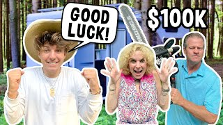 Last to Leave $100,000 RV KEEPS IT CHALLENGE **INSANE** | Parker Pannell