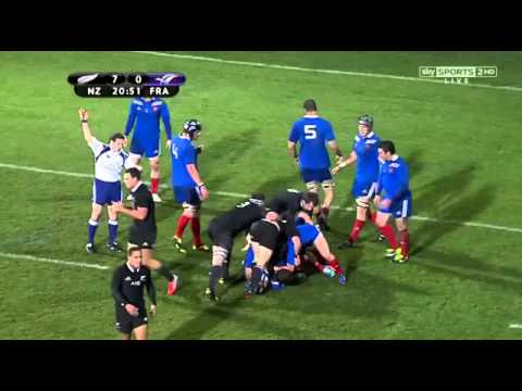 Keiran Reid 50 Metre Blockbusting French Swatting Run