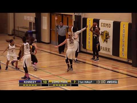 High School Girls Basketball: Bloomington Kennedy vs. Como Park