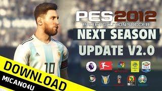 PES 2012   Next Season Patch 2019 Update V2.0 (PC\HD)