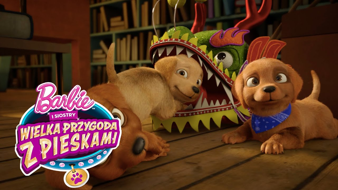 Animal Bedroom Wallpaper Wielka Przygoda Z Pieskami Już Wkr 243 Tce Barbie Youtube