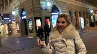 Vienna , night walk