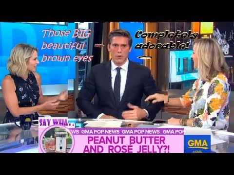 Cute Clips, DAVID MUIR on GMA July 2017