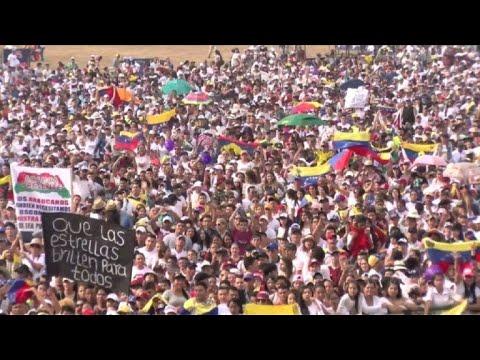 afpes: Cierra megaconcierto a favor de ingreso de ayuda a Venezuela