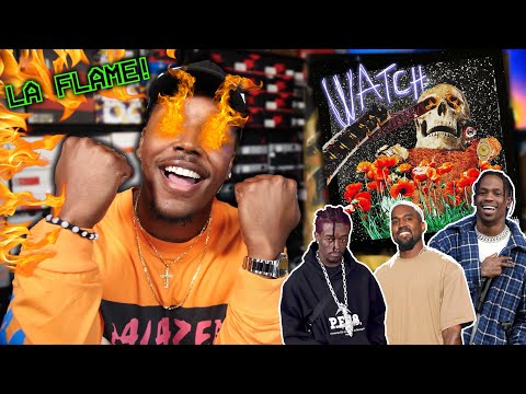 Travis Scott Ft. Lil Uzi Vert & Kanye West - Watch | REACTION! ASTROWORLD SOON!