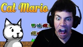 WHO DESIGNED THIS? SATAN?! - Cat Mario Ep 1