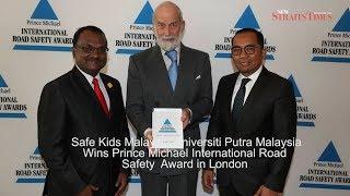 Safe Kids Malaysia UPM bags UK award
