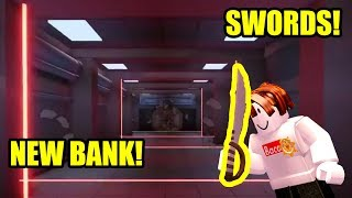 NEW SWORDS and BANK COMING TO ROBLOX JAILBREAK (LEAKS!!!)