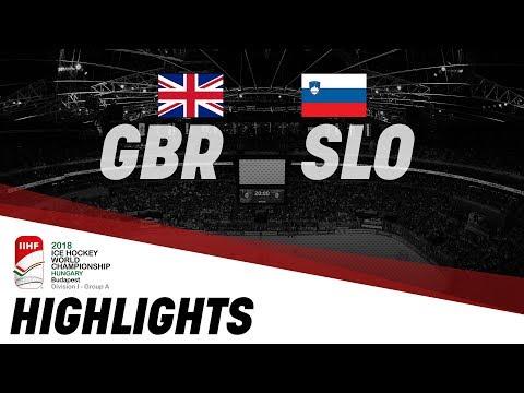 Great Britain - Slovenia | Highlights | 2018 IIHF Ice Hockey World Championship Division I Group A