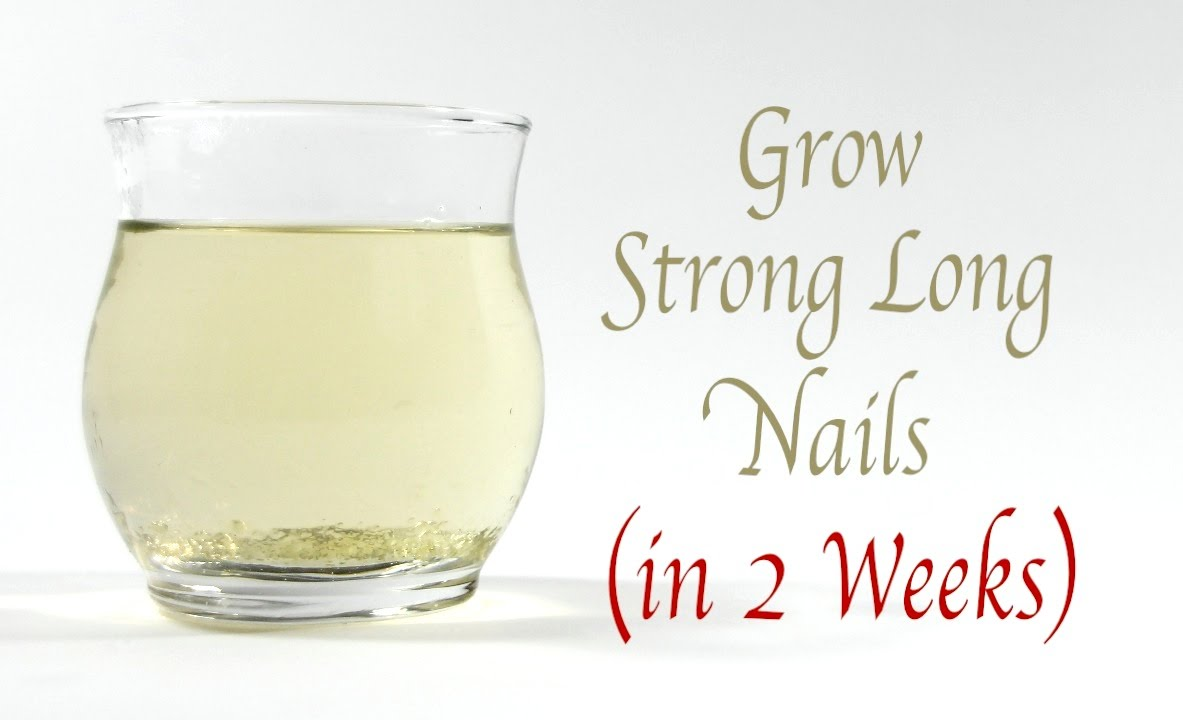 Grow Strong Long Healthy Nails Fast - YouTube