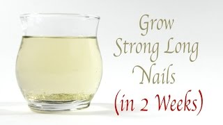 Grow Strong Long Healthy Nails Fast
