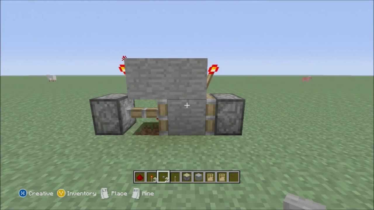 make a button act like a lever minecraft xbox 360 editon