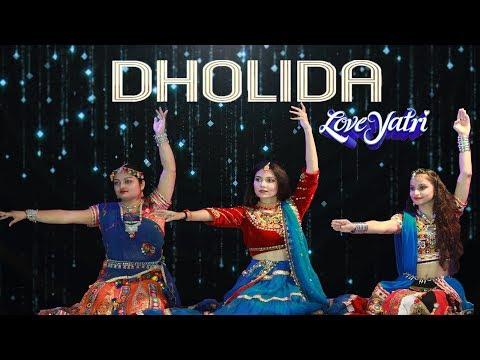 Dholida Dance Video Song  | LOVEYATRI | Dance Cover | Garba 2018 | Sandy Katty Choreography |