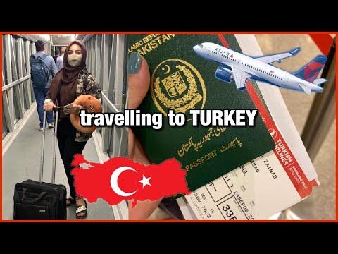 Pakistan to Turkey travelVLOG (pandemic edition)