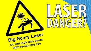 Les pointeurs lasers sont-ils dangereux ? Scilabus 29