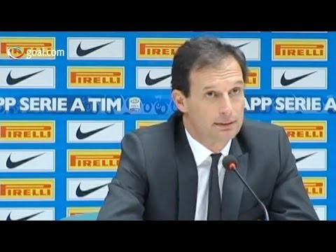 Internazionale vs Milan - Massimiliano Allegri post-match press conference