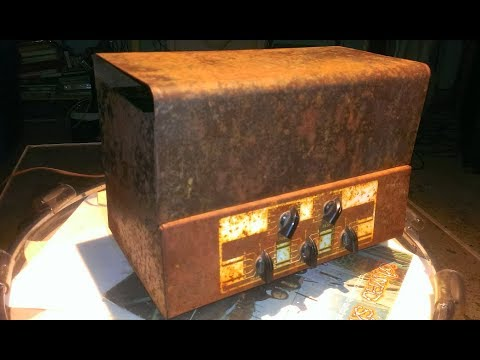 Rusty YARD SALE AMP  & Other Creations - TECH TIME w/ Tony Dorris of Volition