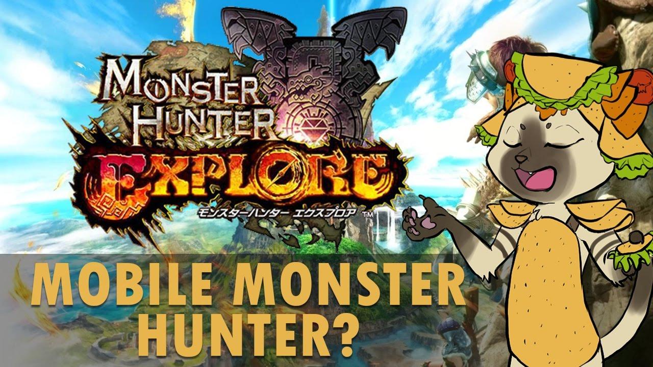 monster hunter explore apk 2018