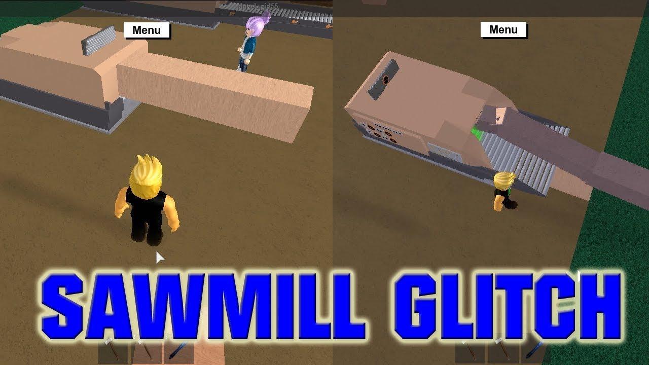 Sawmill Glitch Lumber Tycoon 2 Youtube