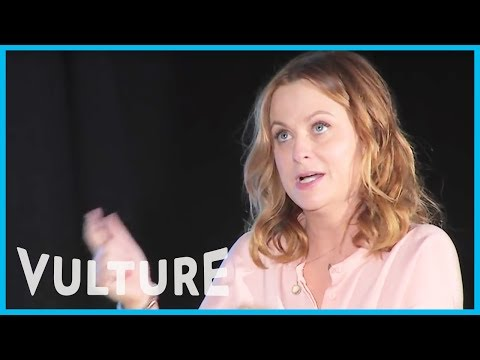 Amy Poehler, Julie Klausner, and Billy Eichner at Vulture Festival 2015