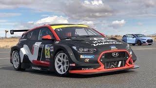 Hyundai Veloster N TCR Race Car - POV Ride Along