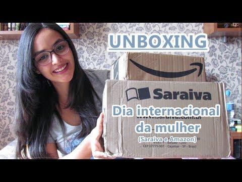 • Unboxing Dia internacional da Mulher na Saraiva e Amazon! l 2018